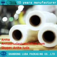 Wholesale Luda high quality HOT SELL LLDPE pallet stretch film/plastic film from china suppliers
