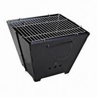 Wholesale Foldable Portable BBQ Grill in Barrel Style from china suppliers