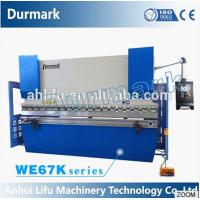 Wholesale China export CE high efficiency full CNC synchronized 3+1 axis press brake from china suppliers