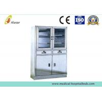 Wholesale Hospital Stainless Steel Metal Medical Cabinet, Shoes Cabinetwith Adjusted Shelves (ALS-CA008) from china suppliers