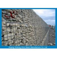 Wholesale Aluminum-zinc Alloy Cage Gabion Wire Mesh / Hexagonal Gabion Box from china suppliers