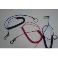 Wholesale Customized colors fly fishing accessory fishing net cord and lanyard coil spring strings from china suppliers