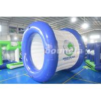 Wholesale 0.9mm PVC Tarpaulin Blue and White Color Inflatable Water Roller from china suppliers