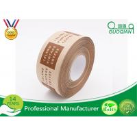 Wholesale Antistatic Water Solubel Reinforced Adhesive Kraft Paper Tape , Thinkness 130~160μ from china suppliers