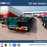 Wholesale tri-axle 48 40 ton shipping container  flatbed trailer - CIMC Vehicle from china suppliers