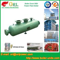 Wholesale Coal Fired CFB Boiler Drum High Strength , Water Tube Boiler Drum 100 T from china suppliers