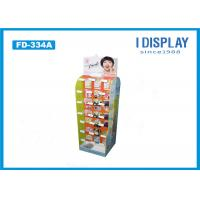 Wholesale Floor Stand Hook Cardboard POP Displays Light Duty For Lipstick Retail from china suppliers