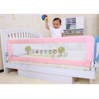 Wholesale Pink Safety Double Sided full bed rails Folding For Prevent Kids Dropping Down from china suppliers
