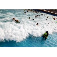 Wholesale Outdoor Water Park Wave Pool / Security swimming pool wave machine from china suppliers