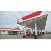 Quality Prefabricated Steel Roof Trusses Shed Building Space Frame Petrol Station Design for sale