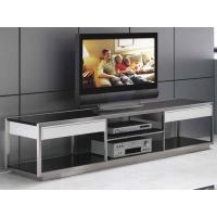 Wholesale Black Decorative Furniture Tempered Glass Tops For TV Cabinet / TV Stand , 32 Inch - 60 Inch from china suppliers