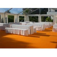 Wholesale Restaurant Tent With Large Canopies, Clear Outdoor Event Tents With Transparent PVC Roof from china suppliers