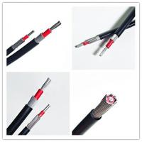 Wholesale RG6 CATV Video Coaxial Power Cable Stranded Copper / Aluminium Conductor from china suppliers