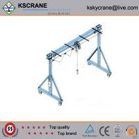 Buy cheap Best Design Simple Gantry Crane Structure from wholesalers