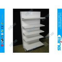 Wholesale Supermarket Clothes Display Shelves Single Sided , Gondola Storage Shelving from china suppliers