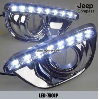 Wholesale Jeep Compass DRL LED Daytime Running Lights car exterior led light kit from china suppliers