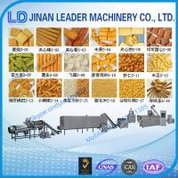 Wholesale Puffed snack food processing machine extruder making machine factory price from china suppliers