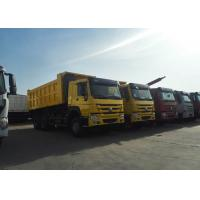 Buy cheap SINOTRUK HOWO 6x4 Tipper Truck 12  Wheeler 20m³, dumper bucket capacity using in road porject solution from wholesalers