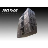 Wholesale High Powered Line Array Speakers For Big Performance , Black Color from china suppliers