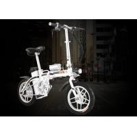 Wholesale 250 Watt Adult Electric Bicycle , Small Collapsible Electric Bike With One - Button Folding from china suppliers