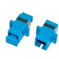 Wholesale UPC / APC SC Fiber Optic Adapter Single Mode Simplex Or Duplex For Multimedia from china suppliers