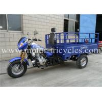 Wholesale Air Cooled Three Wheel Cargo Motorcycle , 3 Wheel Motor Trike ISO9000 CCC Certification from china suppliers