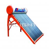 Wholesale 150L with 45° support color steel unpressurized white solar boiler from china suppliers