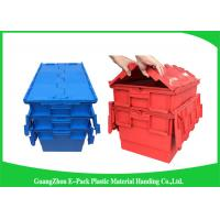 Wholesale Plastic Storage Attach Lid Containers 600 * 400mm Assorted Height from china suppliers