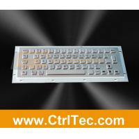 Wholesale stainless steel keyboard for information kiosk from china suppliers