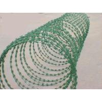 Wholesale Welded razor barbed Galvanized Iron Wire PVC coated Protecting fence from china suppliers