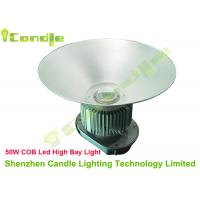 Wholesale Cool / Warm White 50w High Bay LED Outdoor Lights , CREE XM-L LED Chip CRI 90 from china suppliers