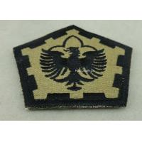Wholesale The Pentagon Clothes Patches Badges , Custom Embroidery Patches With Velcro from china suppliers
