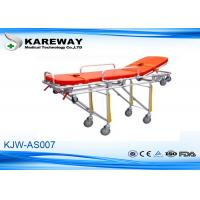Wholesale Durable Emergency Folding Stretcher Trolley With Two Sections , 180 Max Load from china suppliers