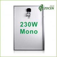 Wholesale 230W Molycrystalline Solar Panels withstand 2400Pa Wind Load , 5400Pa Snow Load from china suppliers