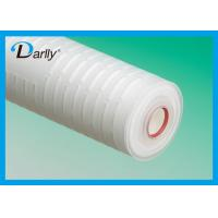 Wholesale Disposable Pleated water cartridge micro cartridge filter for water filter from china suppliers