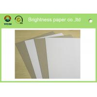 Wholesale Grade AA Recycled Grey Back Duplex Board For Packaging Commodity from china suppliers