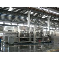 Wholesale 3-in-1 Carbonated Filling Machine For PET Bottle With 24 Rinsing Heads from china suppliers
