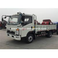 Quality SINOTRUK HOWO 6 Wheeler Heavy Cargo Truck With 4.2T Rear Axle for sale