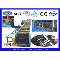 Quality Low Noise 5.5kw Standard Gutter Roll Forming Machine 15 Groups Roller for sale
