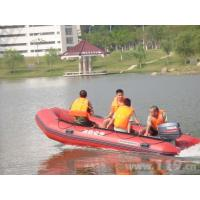 Wholesale PVC Hull 8m Inflatable Rescue Boat With Rigid Aluminum Floor from china suppliers