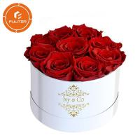 Beautiful Printed Packaging Boxes Hot Stamping For Flower / Jewelry / Perfume