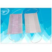 Wholesale Colorful Disposable Medical Mouth Mask Earloop Or Tie-On , Nurse Face Mask from china suppliers