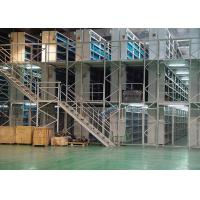 Wholesale Industrial Small Goods Rack Supported Mezzanine Storage Galvanization Surface Finished from china suppliers