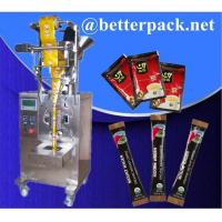 Wholesale Instant coffee packaging machine 3 in 1 coffee packs machine from china suppliers