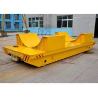 Buy cheap Hydraulic lifting metal industry apply coil transfer cart for steel pipes or cylinder materials from wholesalers