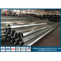 Wholesale Antirust Q345 Galvanized Electrical Steel Utility Poles  ISO9001 Approve from china suppliers