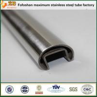 Wholesale ASTM A554 stainless steel slotted piping 304 for ornamental handrail from china suppliers