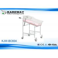 Wholesale Easy Clean Pediatric Hospital Beds , Hospital Baby Bed With 3 Inches Castors from china suppliers