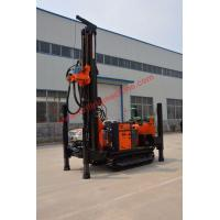 Quality 200m air drilling high capacity crawler type water well drilling machine for sale