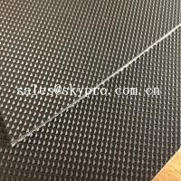Wholesale Wear Resistant Anti Static Mini Diamond Top Fabric PU / PVC Conveyor Belting from china suppliers